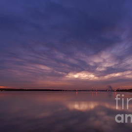 Day 348 Upper Niagara River Pandemic Sunset by Tony Lee