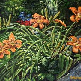 Day Lilies by Eileen Patten Oliver