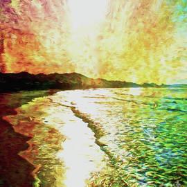 Daybreak At The Beach by Jerome Stumphauzer