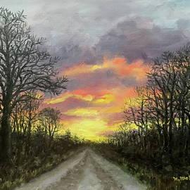 December Journey by Kathleen McDermott