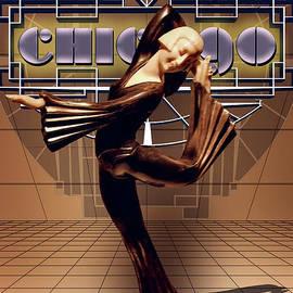 Deco Dancer by Anthony Ellis