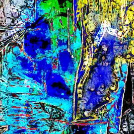 Deep Cold Blue by Galeria Trompiz