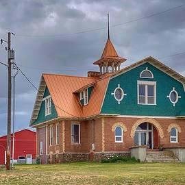 Deep Creek School by Jerry Abbott
