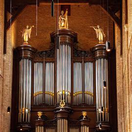 Delft Nieuwe Kerk Pijp Orgel by Bob Phillips
