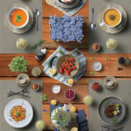 Delicious Dinner For Four by Johanna Hurmerinta