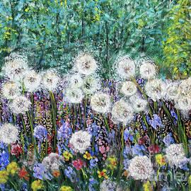 Delightful Dandelions by Lyric Lucas