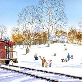Deming Park Snow Hill 100th Anniversary by C Robert Follett