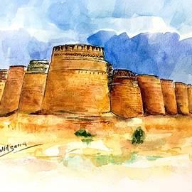Derawar fort. by Khalid Saeed