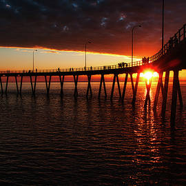 Derby Jetty at Sunset by Jan Fijolek