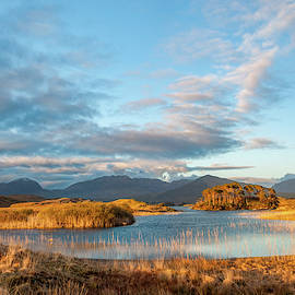 Derryclare Lake Sunset by Rob Hemphill
