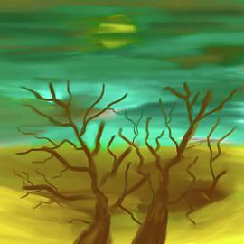 Desert trees by Paulo Viana