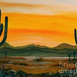 Desert Vista by Lee Piper