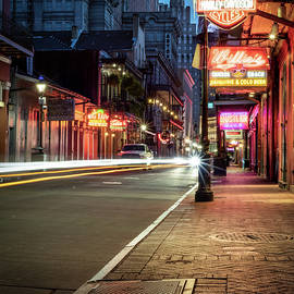 Deserted Bourbon Street by Chase This Light Photography