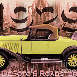 Desoto 6 Roadster by Anthony Ellis