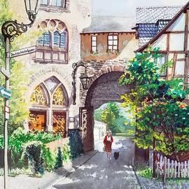 Deutsche Hofgasse by Merana Cadorette