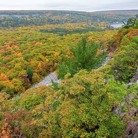Devil's Lake Autumn Vista by Sebastian Musial