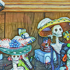 Dia De Los Muertos - Day of the Dead by Jennifer Stackpole