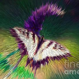 Digital Butterfly by Broken Soldier