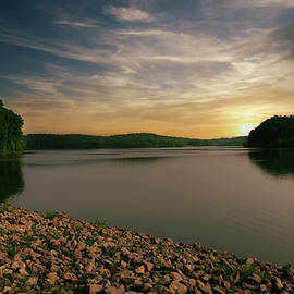Dillon Lake Sunset by Tom Mc Nemar