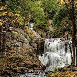 Doanes Falls Royalston MA 1 Lower Fall by Michael Saunders