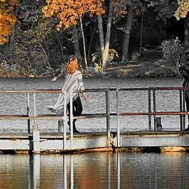 Dock Dancer in Selective by Carmen Macuga