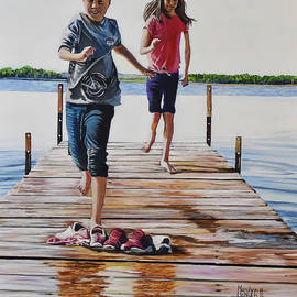 Dock Days by Marilyn McNish