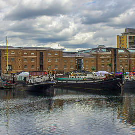 Docklands Marina, London, UK by Venetia Featherstone-Witty