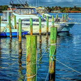 Docks at the Marina by Debra and Dave Vanderlaan