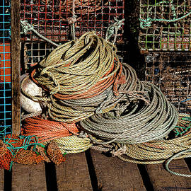 Dockside Still Life 2 by Marty Saccone