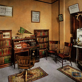 Doctor - The office of Dr Bomar 1917 by Mike Savad