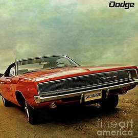 Dodge Charger, 1968, Print Ad, Dodge, Charger by Thomas Pollart
