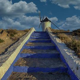 Don Quixote Windmills, Conseugra Spain