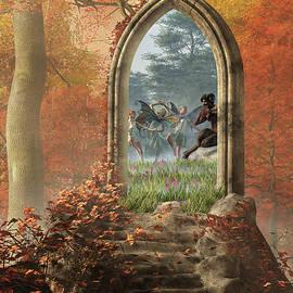 Door to the Never Ending Summer by Daniel Eskridge