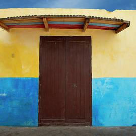 Doorway, Tangier Morocco by Michael Chiabaudo