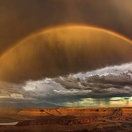 Double rainbow by Murray Rudd