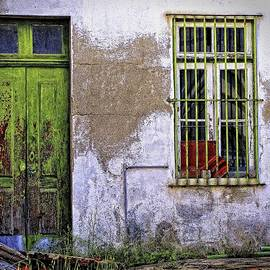 Douro Valley Window and Door by Michael R Anderson