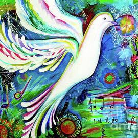 DOVELOVE2 Dove For Peace Let It Go by Genevieve Esson