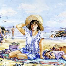 Down by the Seaside  by Trudi Doyle