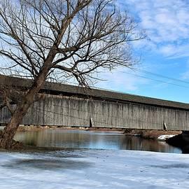 Downsville Covered Bridge by Carol McGrath