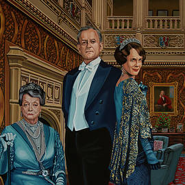 Downton Abbey Painting 1 by Paul Meijering