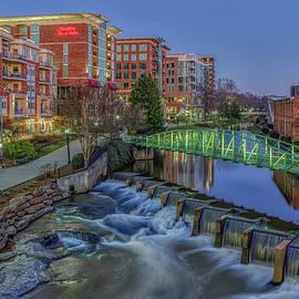 Downtown Greenville South Carolina by Steve Rich