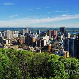 Downtown Hamilton in Spring by Jane Tomlin
