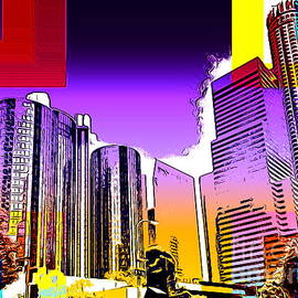 Downtown Los Angeles by Jenny Revitz Soper