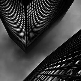 Downtown Toronto Fogfest No 29 by Brian Carson