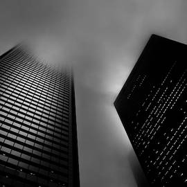 Downtown Toronto Fogfest No 33 by Brian Carson