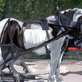 Draft Horse by Jeanne Russell