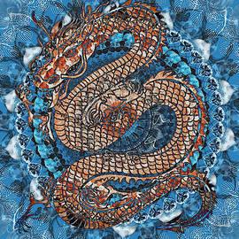 Dragon in my mandala by Ekaterina Yakshina