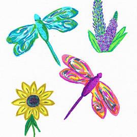 Dragonfly Treats by Mary Poliquin - Policain Creations