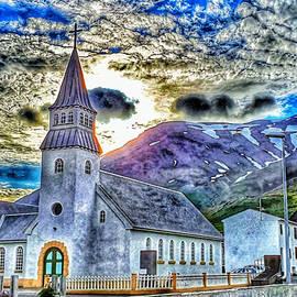 Dramatic church by Reykholt ArtFabrik