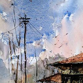 Dramatic Sky  by Suvarna Dheringe